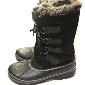 Khombu North Star Boots Womens 8 Thermolite Winter